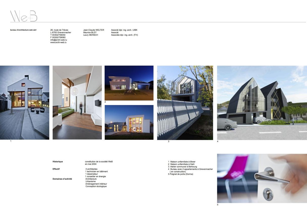 Bureau d architecture web grevenmacher: best architecture luxembourg